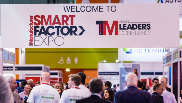 Entrance to The Manufacturer Smart Factory Expo
