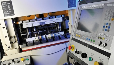 Brandauer's cutting-edge high speed presses are key to meeting volume requirements - image courtesy of Brandauer.