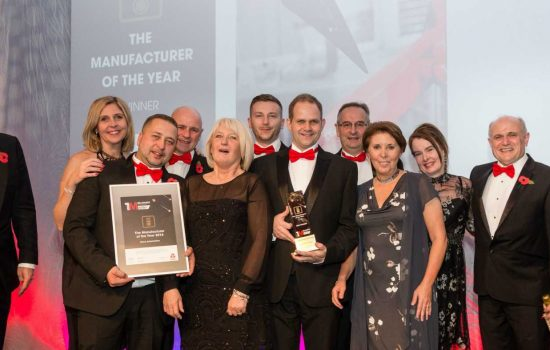 The Manufacturer MX Awards 2016 overall winners, DURA Automotive Systems.
