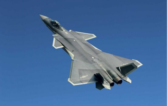 The Chengdu J-20 was shown off by China at the Zhuhai air show. Image courtesy of Wikipedia.