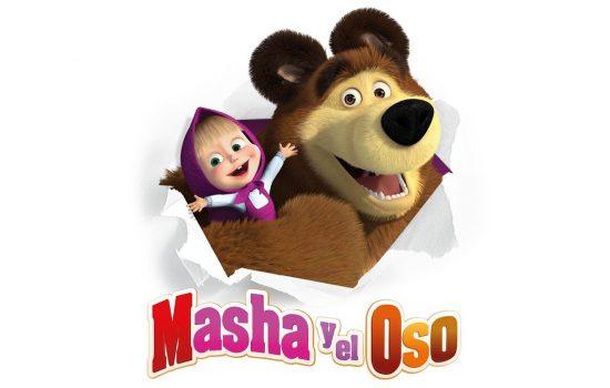 Llegaron a México los juguetes Masha y el Oso