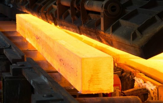 Global Steel Industry - UK Manufacturing Steel Foundry Factory Metal Stock Rolling Rail - image courtesy of Pixabay.