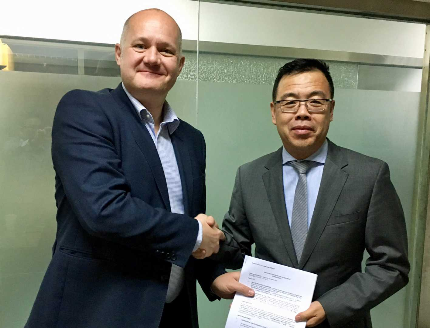 The three-year deal means Chinese designed hip implants are being manufactured in JRI's advanced Sheffield plant for sale in China - image courtesy of JRI Orthopaedics.
