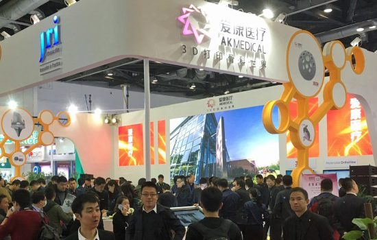 JRI Orthopaedics's products were formally launched at the major Chinese Orthopaedic Association congress in Bejiing - image courtesy of JRI Orthopaedics.