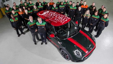 The 4,500 strong workforce at Plant Oxford produce one new MINI almost every minute - image courtesy of BMW MINI.