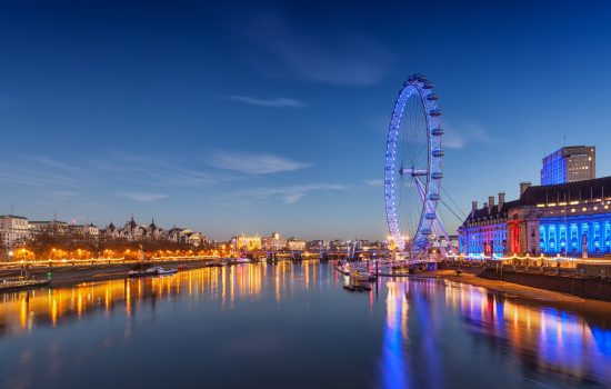 London Eye Skyline Thames UK Export Excellence Awards - image courtesy of Pixabay.