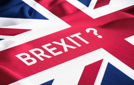 Brexit Flag Union Jack - Stock
