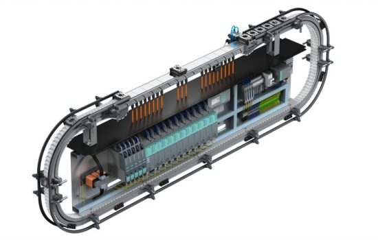 The Multi Carrier System is an innovative packaging solution designed to give manufacturers real flexibility – image courtesy of Siemens.