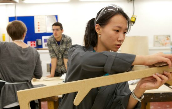 Students at NTU's School of Architecture, Design and Built Environment - image courtesy of NTU