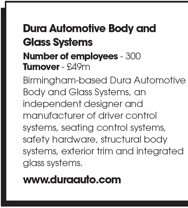 Dura Automotive Body and Glass Systems