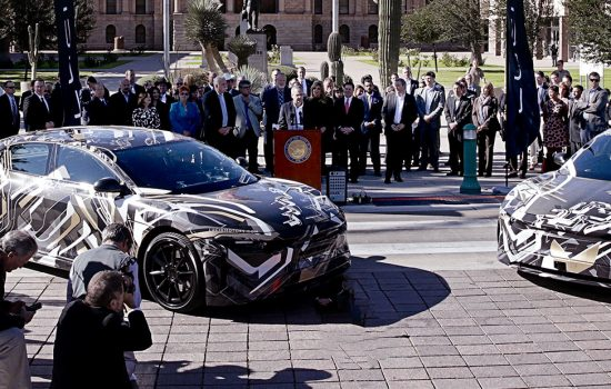 Lucid Motors announced Casa Grande, Arizona, as the location of its new factory - image courtesy of Lucid Motors