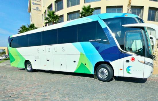 Llegó E-bus a México