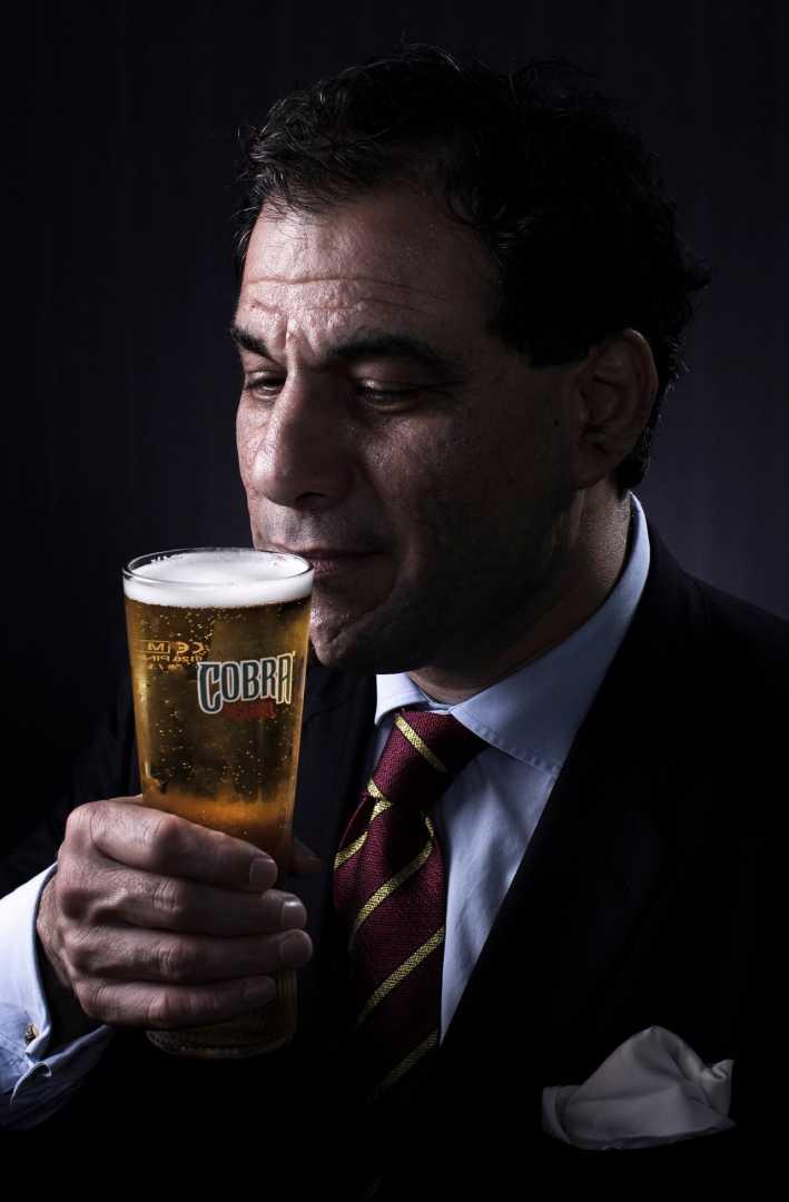 Lord Karan Bilimoria CBE 3 - Cobra Beer