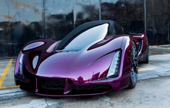 The Blade supercar made completely with 3D printing. Image courtesy of Divergent 3D