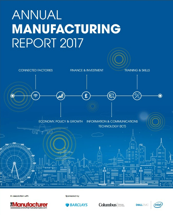 Annual Manufacturing Report 2017 - Front Cover