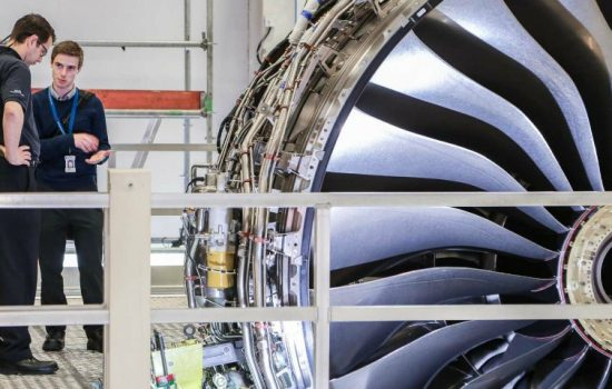 The Rolls-Royce Trent-xWB engine. Rolls-Royce has recently been embroiled in bribery claim brought by the Serious Fraud Office relating to bribery and corruption involving intermediaries in a number of overseas markets - image courtesy of Rolls-Royce.