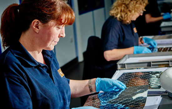 The firm develops and manufactures all components at its 25,000 sq ft facility in Telford and at its sister business, ACE Forming in Kingswinford - image courtesy of Advanced Chemical Etching (ACE).