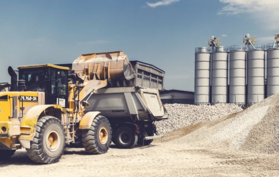GPS tracking devices monitor heavy equipment usage - image courtesy of Agilisystems