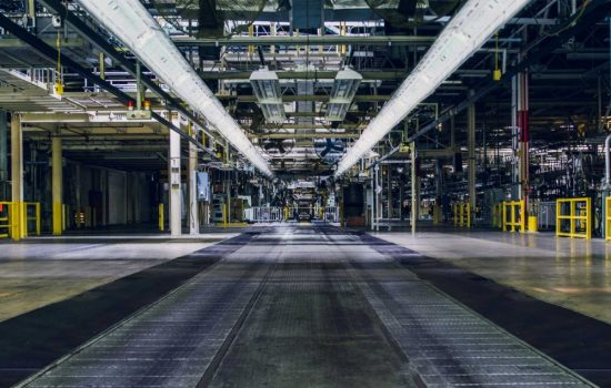 Rivian Automotive's newly purchased production facility in Normal, Illinois. Image courtesy of Rivian Automotive.
