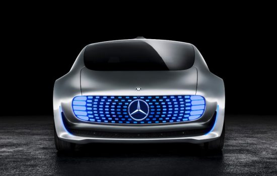 A Mercedes-Benz F015 autonomous vehicle concept. Image courtesy of Mercedes-Benz