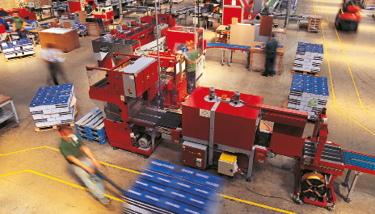 Stock Image - Manufacturing Factory Industry Speed Up Production