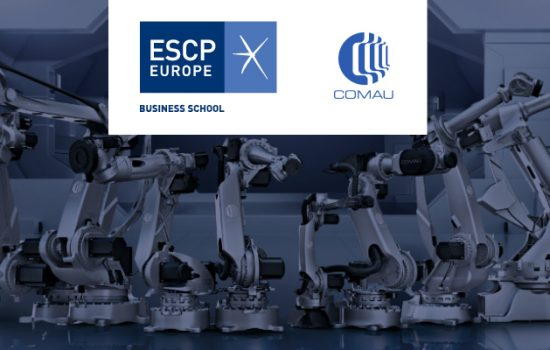ESCP Europe Business School the world's first business school (est.1819) welcomes the Executive Master in Manufacturing Automation and Digital Transformation (EMMA) - Fourth Industrial Revolution