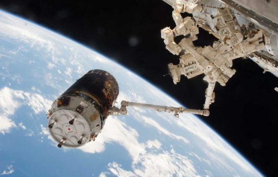The KITE experiment was to be deployed by the HTV-6 vehicle after leaving the ISS. Image courtesy of Nasa.