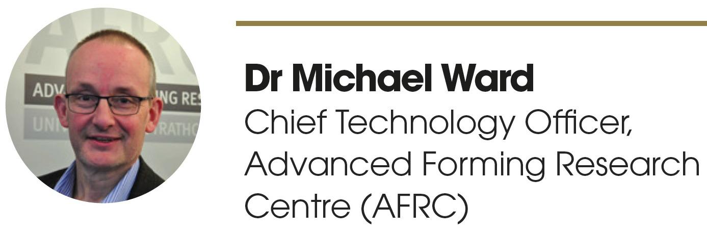 Dr Michael Ward, CTO - AFRC