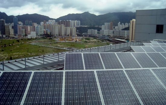 China has been installing a large amount of renewable energy capacity in recent years. Image courtesy of Wikipedia - WiNG.