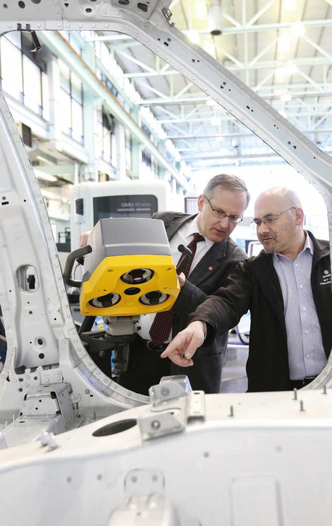 WMG at the University of Warwick is part of a multi-partner consortium to develop a process to improve 'right first time' implementation of remote laser welding (RLW) in an automotive assembly system – image courtesy of WMG.