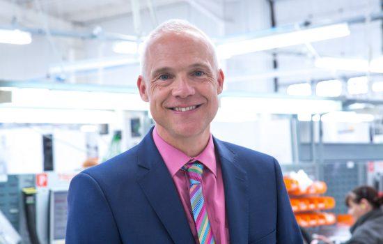 Tony Hague, Managing Director at PP Control & Automation - image courtesy of PP Control & Automation