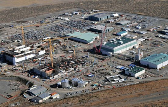 Bechtel National is constructing the world's largest radioactive nuclear waste treatment plant, the Hanford Tank Waste Treatment and Immobilization Plant - image courtesy of Hanford.