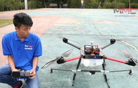 MMC presentó drones para agilizar trabajos en tendido de líneas eléctricas