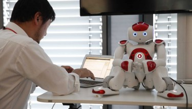 Robotics is a way of providing Watson with 'arms and legs' - image courtesy of IBM.