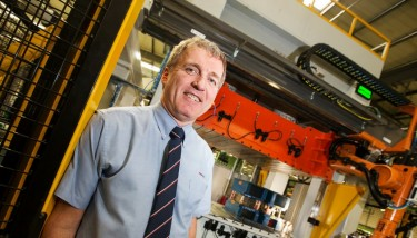 Machinery Investment - Ian Malcolm, managing director, ElringKlinger (GB).