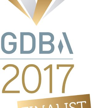 Gatwick Diamond Business Awards finalist logo - image courtesy of Lighthouse Systems