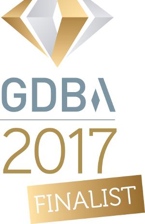 Gatwick Diamond Business Awards finalist logo - image courtesy of Lighthouse Systems