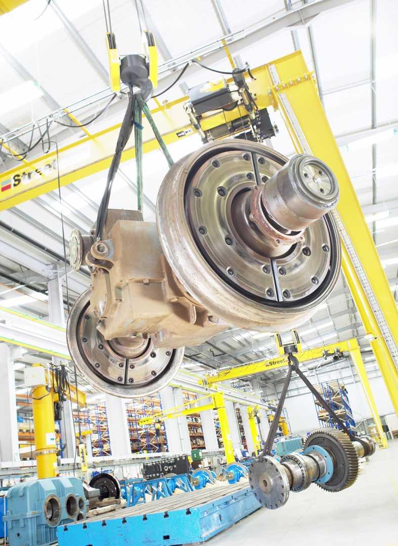 Siemens Leeds - The Leeds factory is described as a leading example of best practice - image courtesy of Leeds.