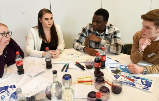 Coca-Cola European Partners currently has over 60 apprentices working across its supply chain, cold drinks operations and commercial operations - image courtesy of CCEP.