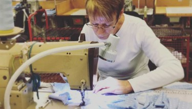 National Apprentices Week - Moira Guest, dressmaker, David Nieper.