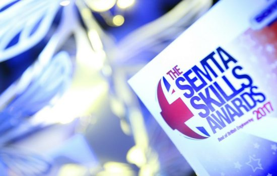 Best of British Engineering - Semta Skills Awards 2017 gala dinner was held in London's Hilton Hotel – image courtesy of Semta Group.