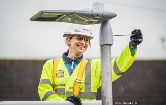 Smart City - Telensa telecell, Schréder LED, Skanska deployment - image courtesy of Telensa