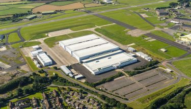 Aston Martin St Athan is on target to commence production in 2019 – image courtesy of Aston Martin.