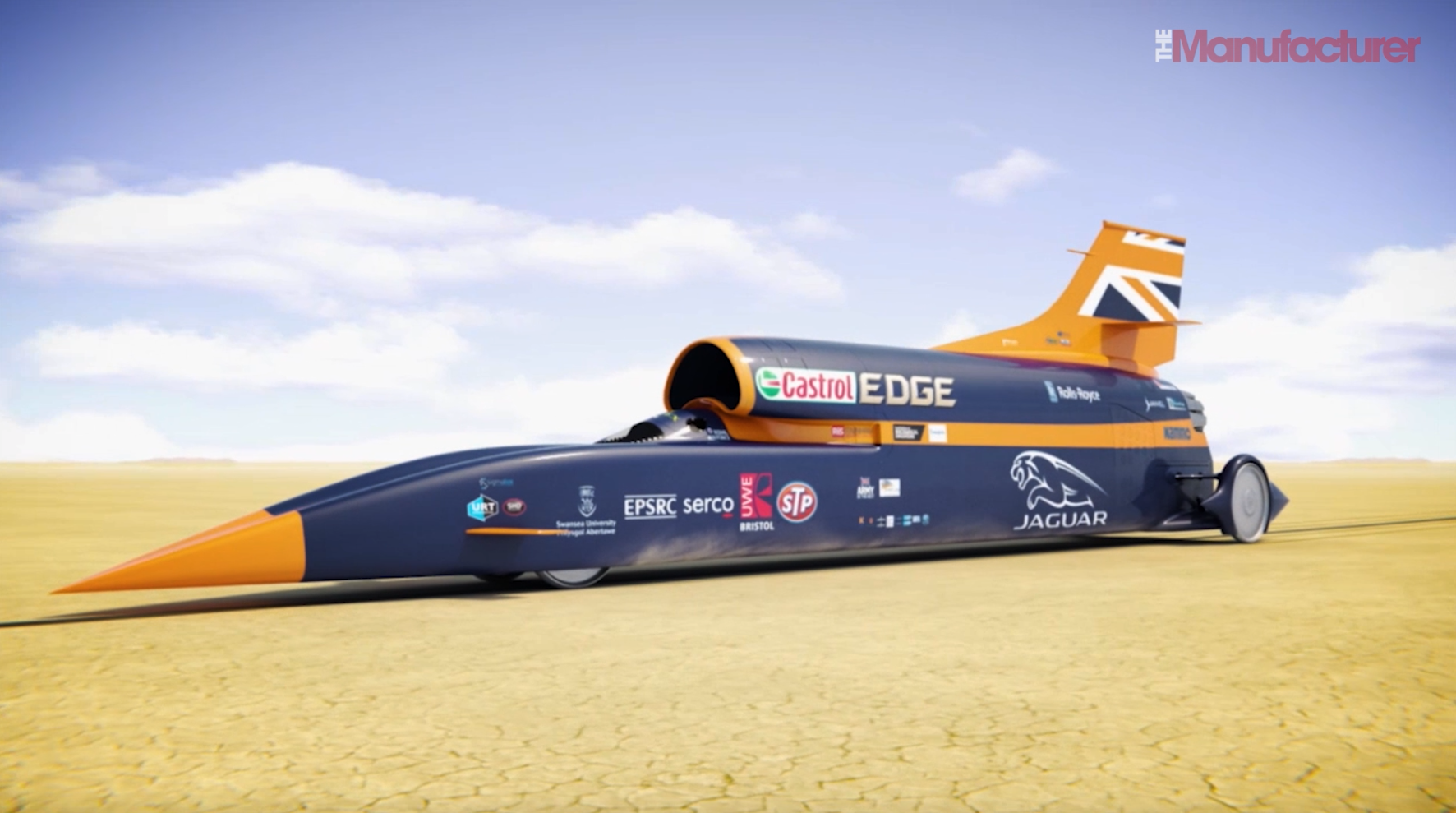 Thousands of visitors are expected to come and see history being made as Bloodhound SSC is driven at speeds of up to 200mph on the 1.7mile (2.7km) long runway.