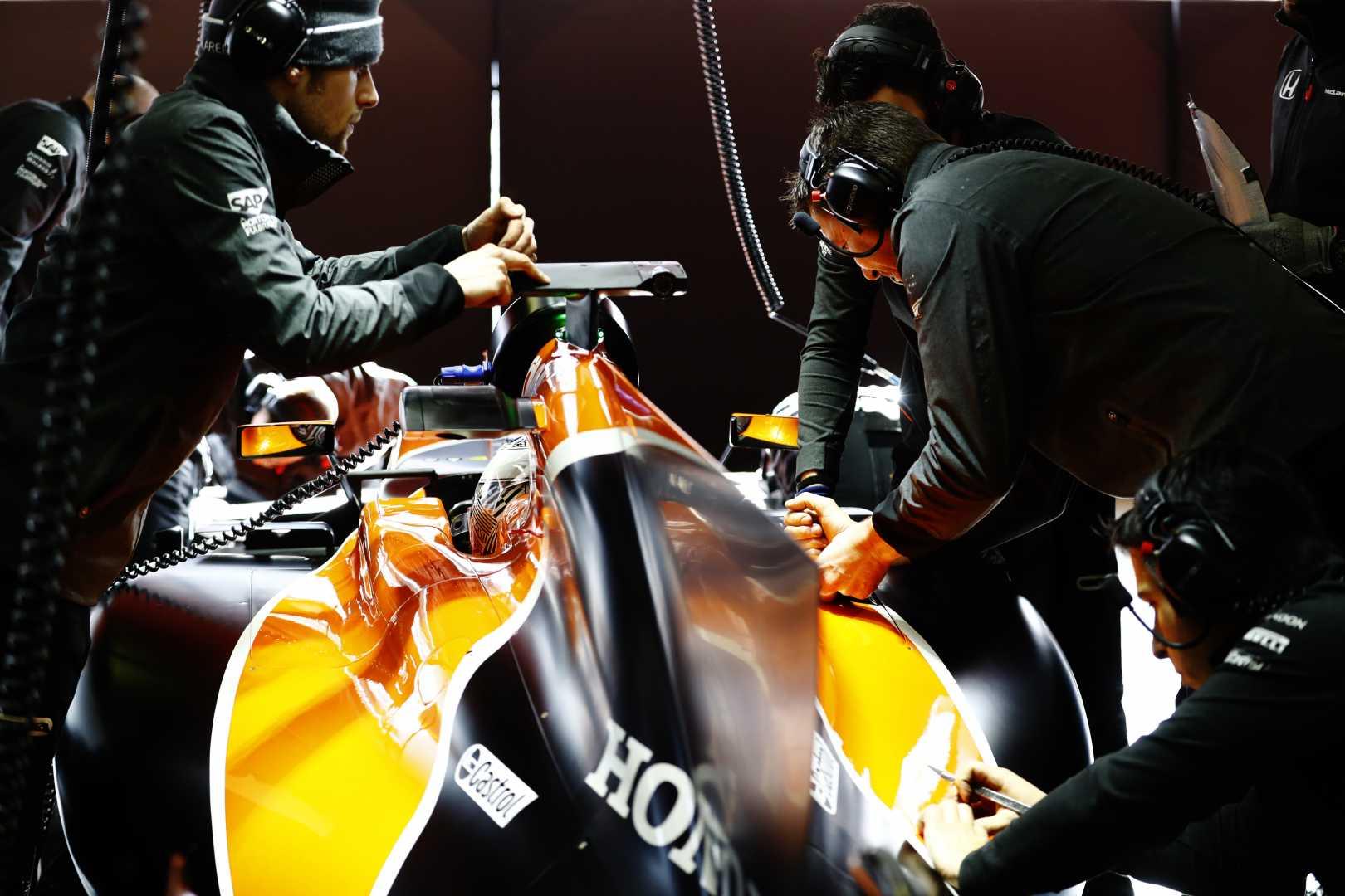 F1 Testing Circuit de Barcelona Catalunya, Spain – image courtesy of McLaren Racing.