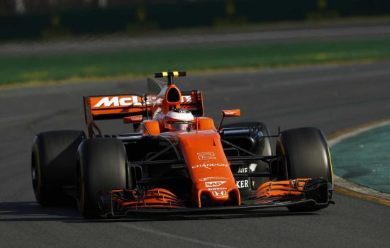 McLaren Racing Honda MCL32 race car – image courtesy of McLaren Racing.