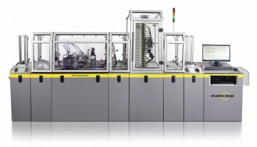 Investing in two new Atlantic Zeiser Persomaster machines aims to streamline and expedite the firm's card production process – image courtesy of Thames Card Technology.