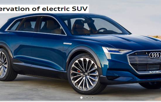 The Audi electric e-tron Sportback vehicle is now available for pre-order in Norway - image courtesy of Audi