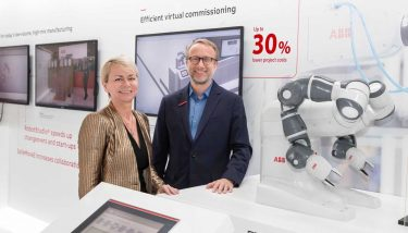 ABB and IBM - Harriet Green, general manager of Watson IoT, Customer Engagement and Education for IBM, and Guido Jouret, chief digital officer of ABB.