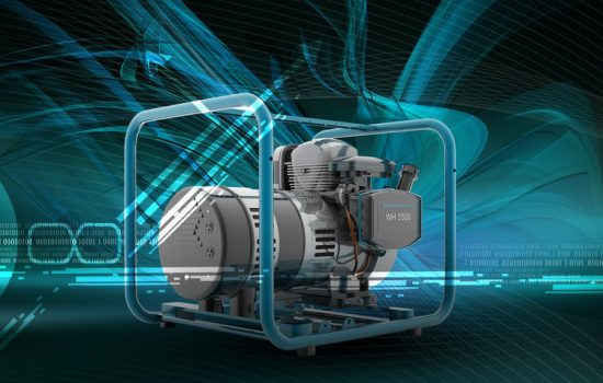 A standby generator can power your entire house or a small business in the event of a power failure - image courtesy of Shutterstock.